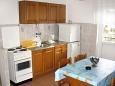 Baška Voda, Kitchen u smještaju tipa apartment, dopusteni kucni ljubimci i WIFI.