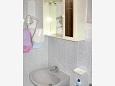 Baška Voda, Bathroom 2 u smještaju tipa apartment, dopusteni kucni ljubimci i WIFI.