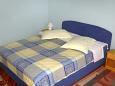 Baška Voda, Bedroom 1 u smještaju tipa apartment, dopusteni kucni ljubimci i WIFI.