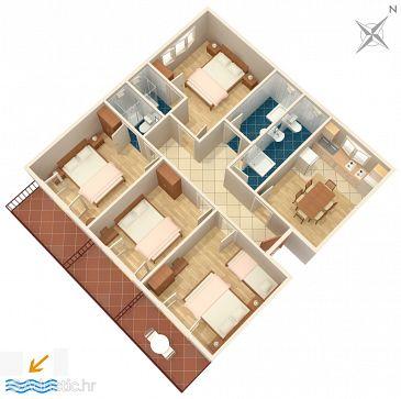 Apartment A-2614-b - Apartments Podgora (Makarska) - 2614