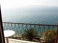 Balcony - view - Studio flat AS-2614-a - Apartments Podgora (Makarska) - 2614