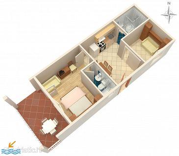 Apartment A-2615-a - Apartments Podgora (Makarska) - 2615
