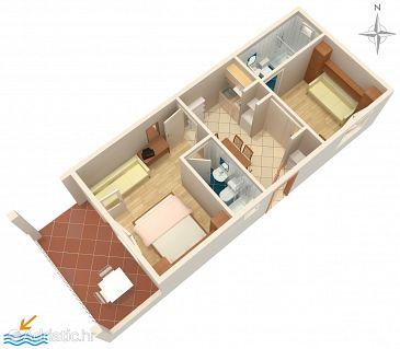 Apartment A-2615-b - Apartments Podgora (Makarska) - 2615