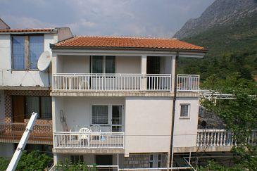 Obiekt Podaca (Makarska) - Zakwaterowanie 2618 - Apartamenty blisko morza ze żwirową plażą.