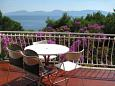 Terrace - Apartment A-2626-a - Apartments Zaostrog (Makarska) - 2626