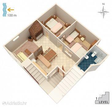 Apartment A-2630-a - Apartments Makarska (Makarska) - 2630