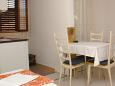 Dining room - Studio flat AS-2633-a - Apartments Podaca (Makarska) - 2633