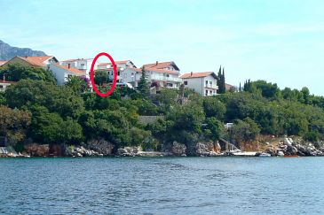 Property Podaca (Makarska) - Accommodation 2633 - Apartments near sea.
