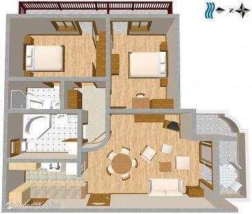 Apartment A-2636-a - Apartments Makarska (Makarska) - 2636