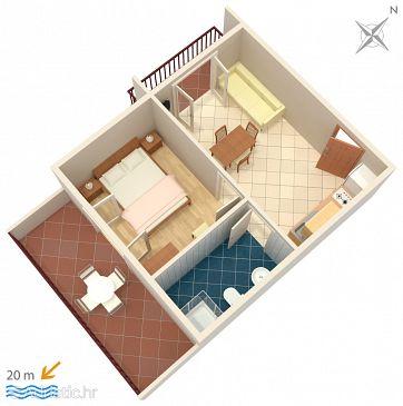 Apartment A-2637-b - Apartments Zaostrog (Makarska) - 2637