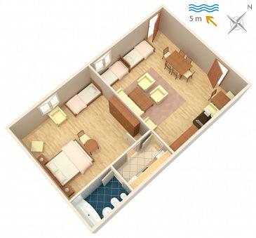 Apartment A-2647-a - Apartments Podaca (Makarska) - 2647