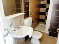 Zaostrog, Bathroom u smještaju tipa apartment, WIFI.