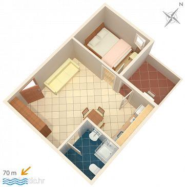 Apartment A-2649-c - Apartments Zaostrog (Makarska) - 2649