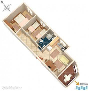 Apartment A-2658-d - Apartments Tučepi (Makarska) - 2658