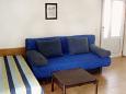 Orebić, Bedroom u smještaju tipa studio-apartment, dopusteni kucni ljubimci i WIFI.