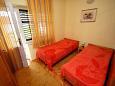 Zaostrog, Living room u smještaju tipa apartment, dopusteni kucni ljubimci i WIFI.