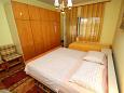 Zaostrog, Bedroom u smještaju tipa apartment, dopusteni kucni ljubimci i WIFI.