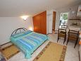 Bedroom - Studio flat AS-2663-a - Apartments Zaostrog (Makarska) - 2663