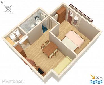 Apartment A-2670-d - Apartments Drašnice (Makarska) - 2670