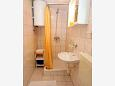 Bathroom - Studio flat AS-2671-a - Apartments Bratuš (Makarska) - 2671