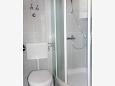 Makarska, Bathroom u smještaju tipa studio-apartment, WIFI.