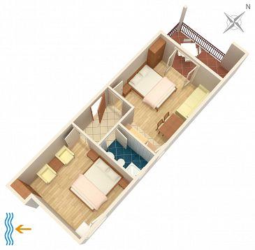 Apartment A-2676-a - Apartments Tučepi (Makarska) - 2676
