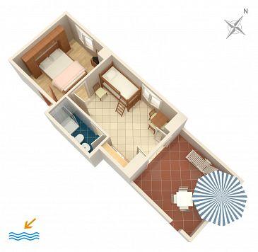Apartment A-2687-d - Apartments and Rooms Slano (Dubrovnik) - 2687