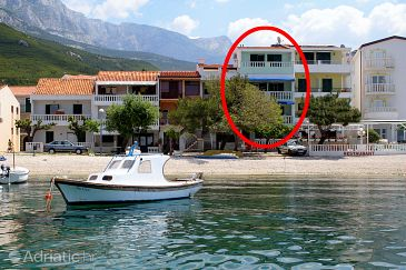 Property Promajna (Makarska) - Accommodation 2690 - Apartments and Rooms near sea with pebble beach.