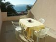 Terrace - Studio flat AS-2696-a - Apartments Bratuš (Makarska) - 2696