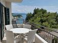 Balcony - Apartment A-2705-c - Apartments Drašnice (Makarska) - 2705