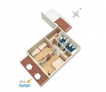 Apartament A-2711-a - Apartamenty Podaca (Makarska) - 2711