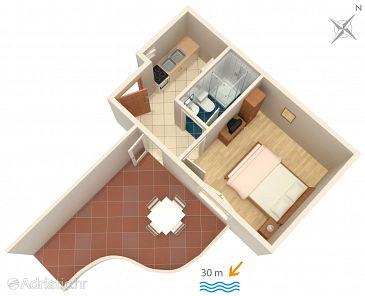 Apartment A-2711-c - Apartments Podaca (Makarska) - 2711