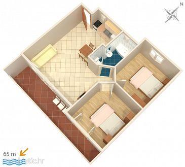 Apartment A-2714-c - Apartments Podgora (Makarska) - 2714