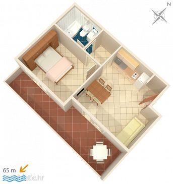 Apartment A-2714-d - Apartments Podgora (Makarska) - 2714