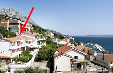 Property Podgora (Makarska) - Accommodation 2714 - Apartments near sea with pebble beach.