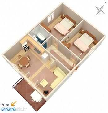 Apartment A-2720-a - Apartments Baška Voda (Makarska) - 2720