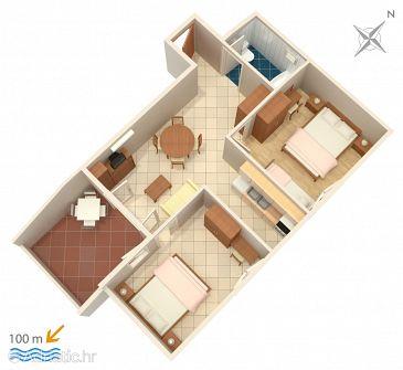 Apartment A-2721-d - Apartments Tučepi (Makarska) - 2721