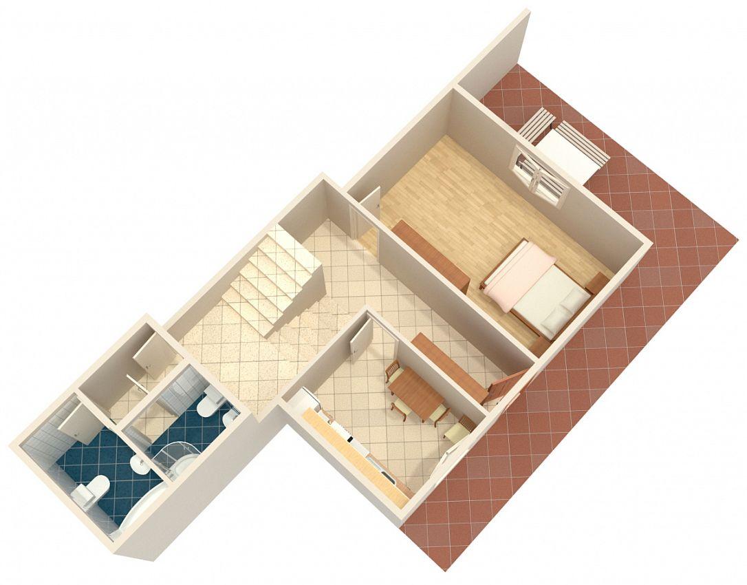 Apartmány s parkoviskom v meste Omiš - 2726