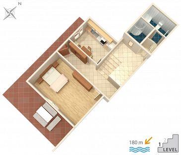 Apartament A-2726-a - Kwatery Omiš (Omiš) - 2726