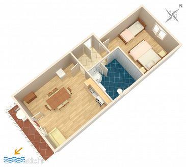 Apartment A-2731-c - Apartments Duće (Omiš) - 2731