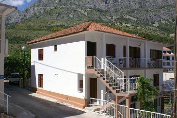 Obiekt Drvenik Donja vala (Makarska) - Zakwaterowanie 2732 - Apartamenty blisko morza ze żwirową plażą.
