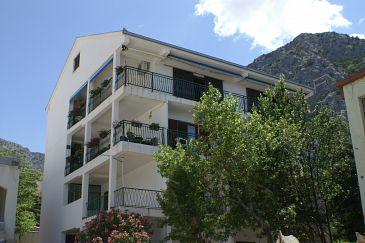 Obiekt Gradac (Makarska) - Zakwaterowanie 2735 - Apartamenty blisko morza ze żwirową plażą.