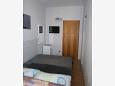 Omiš, Bedroom u smještaju tipa studio-apartment, dostupna klima i WIFI.