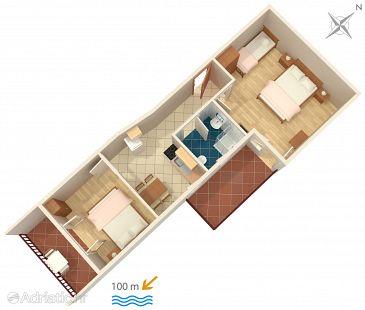 Apartment A-2742-b - Apartments Pisak (Omiš) - 2742