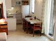 Pisak, Dining room u smještaju tipa apartment, dostupna klima i WIFI.