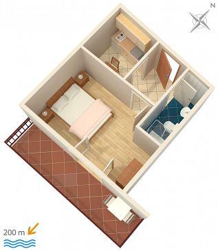 Apartament A-2751-c - Apartamenty Omiš (Omiš) - 2751