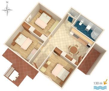 Apartament A-2765-a - Apartamenty Stanići (Omiš) - 2765
