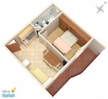 Apartament A-2769-d - Apartamenty Podstrana (Split) - 2769