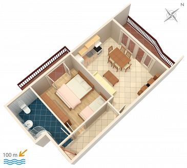 Apartment A-2769-e - Apartments Podstrana (Split) - 2769