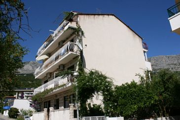 Obiekt Podgora (Makarska) - Zakwaterowanie 2787 - Apartamenty blisko morza ze żwirową plażą.